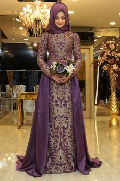 Traditional Turkish Wedding Dress Best Of 23 Best Turkish Wedding Dress Images Event Dresses, Bridal Dresses, Nice Dresses, Muslim Women Fashion, Islamic Fashion, Turkish Wedding Dress, Muslimah Wedding Dress, Hijab Evening Dress, Bridal Hijab