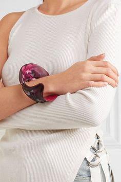 DINOSAUR DESIGNS Orchid resin bracelet