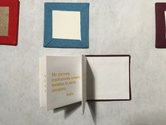 Making Handmade Books: What I Found Out Making I Found Out