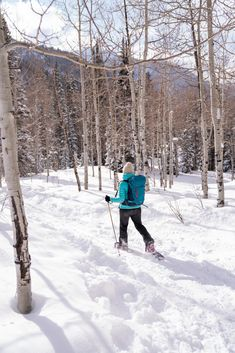 ba1f481eef How to Snowshoe  Beginner Tips for finding a Trail