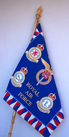 Embroidered flag for the military in the highest quality