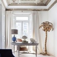 It's exciting to stumble across a piece of contemporary design history such as this, and I quickly found many examples of Maison Jansen brass palm lamps Living Etc, Living Spaces, Living Room, Living Area, Casa Decor 2017, Spanish Interior, Tree Floor Lamp, Tree Lamp, Metal Tree