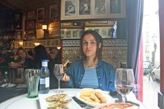 Eating in Madrid. Bodega de la Ardosa