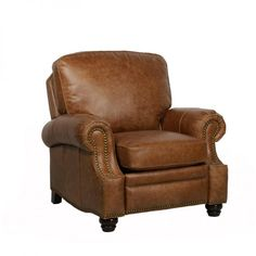 Longhorn II Leather Recliner Chair : Leather Furniture...