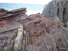 The Great Unconformity - 35 miles East of Edinburgh