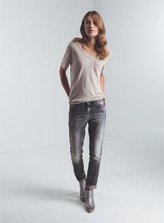 point-girlfriend-fit-ab - Denim - Shop woman - DENHAM the Jeanmaker