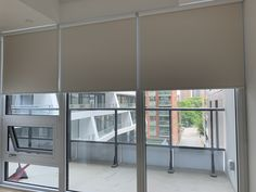 Picture of blackout blinds in Toronto