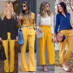 look do dia: calça animal print + pink + amarelo |