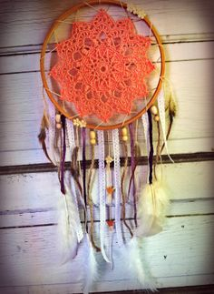 7 Endless Summer Dreamcatcher by ModernDaydream on Etsy, $19.99