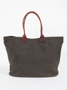 SLOW OLD CANVAS BUCKET TOTE BAG - GENTRY NYC - 1