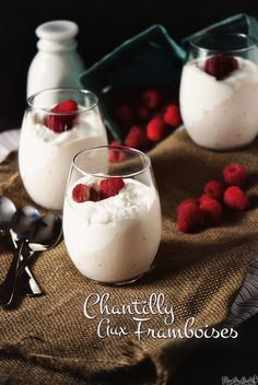 Chantilly Aux Framboises – Fancy Pants Whipped Raspberry Cream Desserts