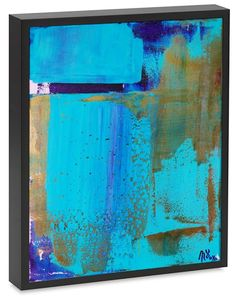 Buy Celeste Skies - Signed and Framed, Acrylic painting by Nestor Toro on…