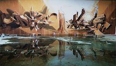 Insanely Good 3D Graffiti by Odeith   Illusion Magazine