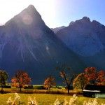Autumn, Dolomites (Italy)