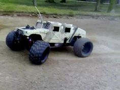 RC GAS POWERED HUMMER by john d'alberto