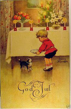 Härliga gamla julkort