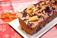 Cake à la carotte et aux pépites de chocolat