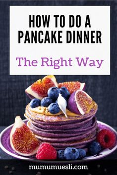 You've found it! The Best Pancake Dinner Ideas to make Breakfast-for-Dinner healthy AND fun. Discover how to do pancakes for dinner the right way, where to buy the best #pancakes mix, and what to serve alongside the flapjacks. Come on in to the #mumumuesli clean blog archives! #recipes #pancaketoppings #breakfastfordinner #vegetarianrecipes #eatclean #healthyrecipes (Protein Pancake Recipe   Dinner Recipes with Pancakes Mix   Pancake Dinner Ideas   Pancake Toppings Ideas) Breakfast On A Budget, High Fiber Breakfast, Clean Eating Breakfast, How To Make Breakfast, How To Do Pancakes, Pancakes For Dinner, Fiber Foods List, Food For Acne, Organic Food Online