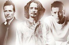 Scott Weiland,  Chris Cornell, and Chester Bennington