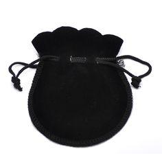 6.6x7.8cm Mini Storage Bag Velvet Drawstring Pouches Boxes