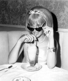 "Sue Lyon after the premier of ""Lolita"", 1962"