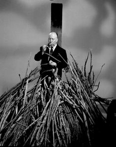Alfred Hitchcock in Alfred Hitchcock Presents. 1956.