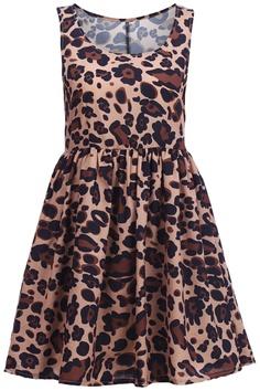 Shop Leopard Sleeveless Shift Dress at ROMWE, discover more fashion styles online. Leopard Dress, Cheetah, Latest Street Fashion, Romwe, Dress Skirt, Street Style, Summer Dresses, My Style, Fashion Trends