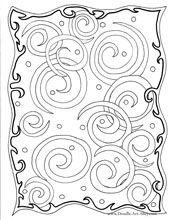 swirls coloring pages, abstract coloring page, adult coloring pages, difficult coloring pages