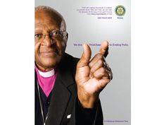 Archbishop Emeritus Desmond Tutu shows how close we are to ending polio.