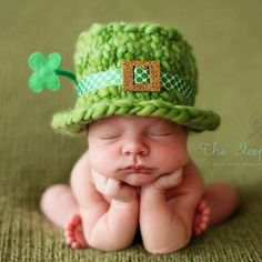 This may be the cutest picture ever! (: Little leprechaun... Happy St Patricks day!