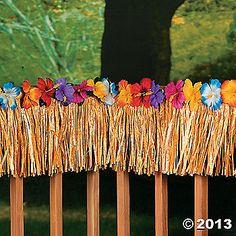 Hibiscus Fringe Decoration