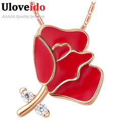 Find More Chain Necklaces Information about Women's Carnation Pendant Silver Plated Mother's Day Gift women necklace 2016 Fashion Necklaces for Mom Ruby Jewelry Bijoux N891,High Quality necklace mood,China necklace connector Suppliers, Cheap necklace circle from D&C Fashion Jewelry Buy to Get a Free Gift on Aliexpress.com