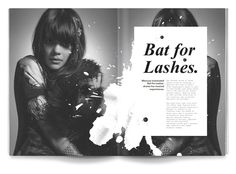 Volture Magazine by Daniel Siim, via Behance