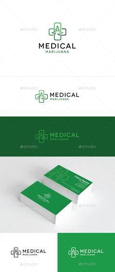 Medical Marijuana - Logo Design Template Vector #logotype Download it here: http://graphicriver.net/item/medical-marijuana/7822483?s_rank=146?ref=nexion