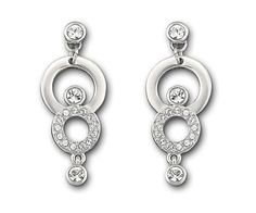 Maskerade Pierced Earrings from Swarovski on Catalog Spree