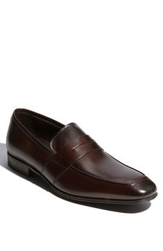 Beautiful loafer!  To Boot New York 'Senato' Penny Loafer (Men) available at #Nordstrom
