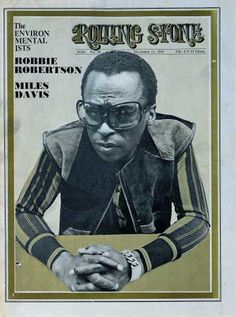 Rolling Stone Cover of Miles Davis