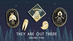 Momo Puegerl is raising funds for They are out there: Cryptozoology and Paranormal Enamel Pins on Kickstarter! Explore the world of cryptids and the paranormal with these hard enamel pins! Flatwoods Monster, Kunst Shop, Mothman, Cool Pins, Pin And Patches, Hard Enamel Pin, Stickers, Cosplay, Looks Cool