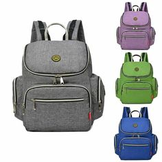 Antitheft Mummy Backpack Big Capacity Maternity Stroller Diaper Baby Nappy  Bag  baby  babies   b9c0fce372325
