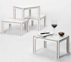 Minimal Waste   Table by Fraaiheid