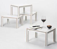 Minimal Waste   Table by Fraaiheid