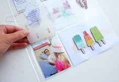 Inspirationsgalerie - Project Life Werksatt - Scrapbook Werkstatt - kleine Platzwunder für mehr Fotos schaffen von Steffi Ried