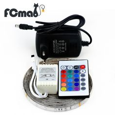$1.99 (Buy here: https://alitems.com/g/1e8d114494ebda23ff8b16525dc3e8/?i=5&ulp=https%3A%2F%2Fwww.aliexpress.com%2Fitem%2F3528-RGB-LED-Strip-300Leds-5M-SMD-24Key-IR-Remote-Controller-12V-2A-Power-Adapter-Flexible%2F32758586835.html ) 3528 RGB LED Strip 300Leds/5M SMD + 24Key IR Remote Controller + 12V 2A Power Adapter Flexible LED Light Free Shipping for just $1.99