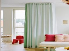 Beautiful Curtain Room Divider