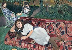 "Henri Matisse ""Young Women in the Garden"", 1919 Henri Matisse, Matisse Kunst, Matisse Art, Matisse Paintings, Picasso Paintings, Raoul Dufy, Art And Illustration, Pablo Picasso, Matisse Pinturas"