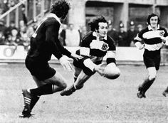 20: Gareth Edward's try for The Barbarians against The All Blacks on 27th January 1973 in Cardiff.