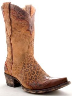 Womens Old Gringo Villa Boots Ocre #L060-62 via @Allens Boots
