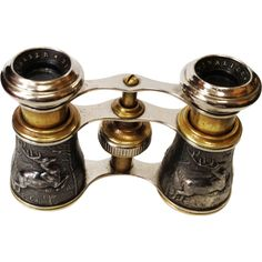Antique Figural Binoculars Opera Glasses Paris | From a unique collection of antique and modern more antique and vintage finds at https://www.1stdibs.com/furniture/more-furniture-collectibles/more-antique-vintage-finds/