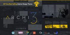 Archi - Interior Design WordPress Theme - Portfolio Creative
