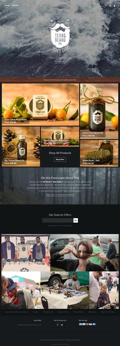 Cool Web Design on the Internet, Texas Beard Co. #webdesign #webdevelopment #website @ http://www.pinterest.com/alfredchong/web-design/